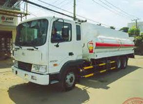 Xe bồn xăng dầu Hyundai HD210