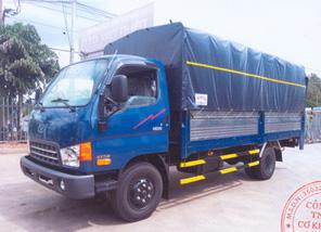 Xe tải HD99 mui bạt bửng nâng