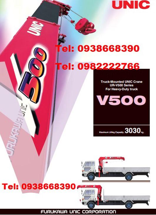 Cần cẩu Unic V500