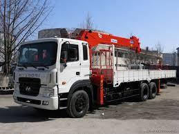 Xe tải HD250 gắn cẩu