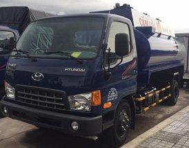Xe bồn xăng dầu Hyundai 8 khối